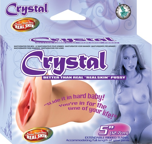 "Better Than Real Skin Pussy ""Crystal"""